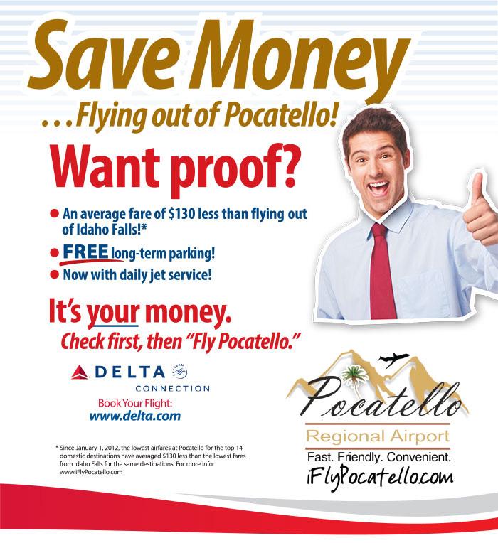 PRA - Save Money Flying out of Pocatelllo