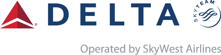 Delta Operated by SkyWest Logo